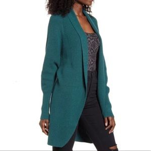 Leith Dolman Sleeve Long open front Cardigan